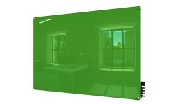 Green Magnetic Glass Whiteboards