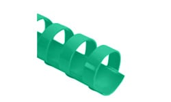 Kelly Green Plastic Binding Combs