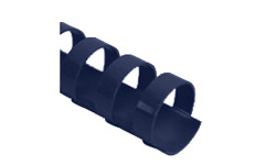 Navy Blue Plastic Binding Combs