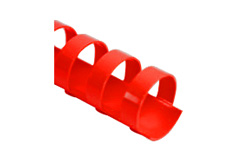 Red Plastic Comb Binding Supplies