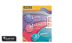 Apollo Transparency Films