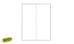 Zapco Vertical Perforated Paper