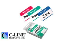 C-Line Name Badges