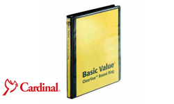 Cardinal BasicValue Ring Binders