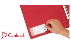 Cardinal Label Holders