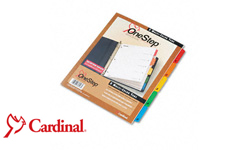 Cardinal Multicolor One Step Dividers