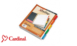 Cardinal Quick Step Index Dividers