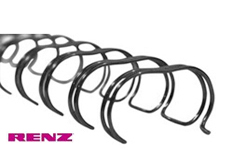 Black Renz Premium Ring Wire Spines