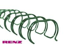 Green Renz Premium Ring Wire Spines