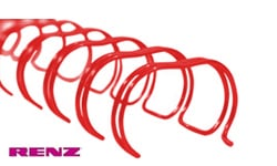 Red Renz Premium Ring Wire Spines