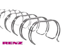 Silver Renz Premium Ring Wire Spines