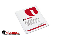 Universal Erasable Index Dividers