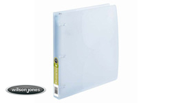 Wilson Jones Translucent Poly Binders