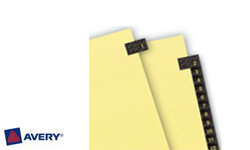 Avery Pre-Printed Index Dividers with 1-31 Tabs
