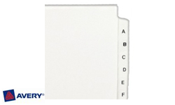 Avery Collated Index Dividers
