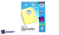 Avery Insertable Index Dividers