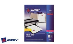 Avery Print-On Index Tab Dividers