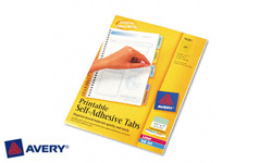 Avery Self-Adhesive Index Tabs