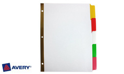 Avery Write-On Index Dividers