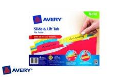 Avery Slide & Lift Tab File Folders
