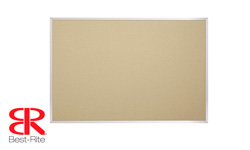 Best-Rite Fabric Add-Cork Bulletin Boards