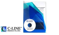C-Line Multi-Section Project Folders