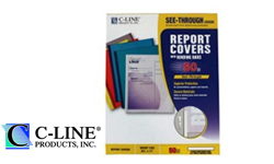 C-Line Polypropylene Report Covers