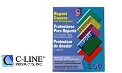 C-Line Vinyl Report Covers