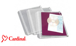 Cardinal Expanding and Zippered Binder Pockets