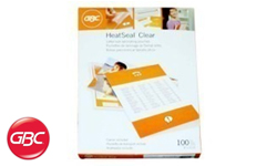 GBC HeatSeal Economy Clear Laminating Pouches