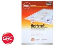 GBC HeatSeal Retrieve It Laminating Pouches
