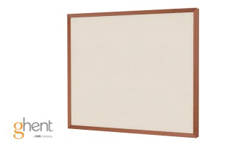 Ghent Impression Beige Fabric Bulletin Boards