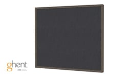 Ghent Impression Black Fabric Bulletin Boards