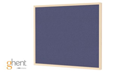 Ghent Impression Blue Fabric Bulletin Boards