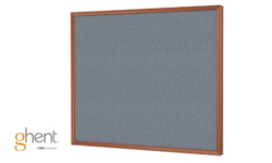 Ghent Impression Gray Fabric Bulletin Boards