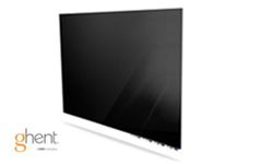 Ghent Black Aria Dry Erase Glassboards