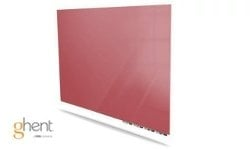 Ghent Rose Aria Dry Erase Glassboards