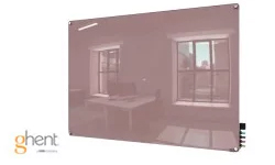 Ghent Lilac Gray Harmony Dry Erase Glassboards