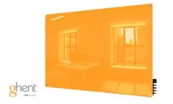Ghent Marigold Harmony Dry Erase Glassboards