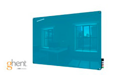 Ghent Blue Harmony Dry Erase Glassboards