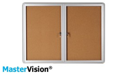 MasterVision Enclosed Boards