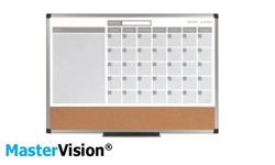 MasterVision Dry-Erase Planner Boards