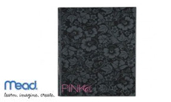 Mead Pink & Black Business Notebooks
