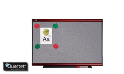 Quartet Vinyl Tack Bulletin Surface Modular Boards