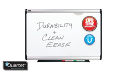 Quartet Prestige Plus DuraMax Porcelain Magnetic Whiteboards