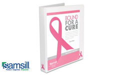 Samsill Bound for a Cure Breast Cancer Awareness View Binders
