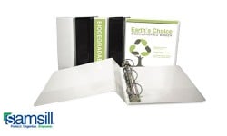 Samsill Earth's Choice Biodegradable View Ring Binders