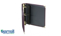 Samsill Leather-Like Cover Business Binders