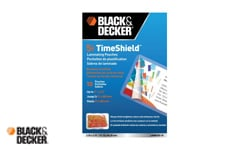 Black and Decker Laminating Pouches