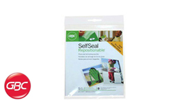 GBC SelfSeal Repositionable Pouches